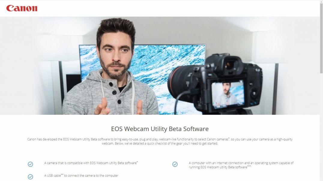 ?¡¡NOTICIÓN!! CANON EOS WEBCAM UTILITY Convertir tu canon en webcam por USB