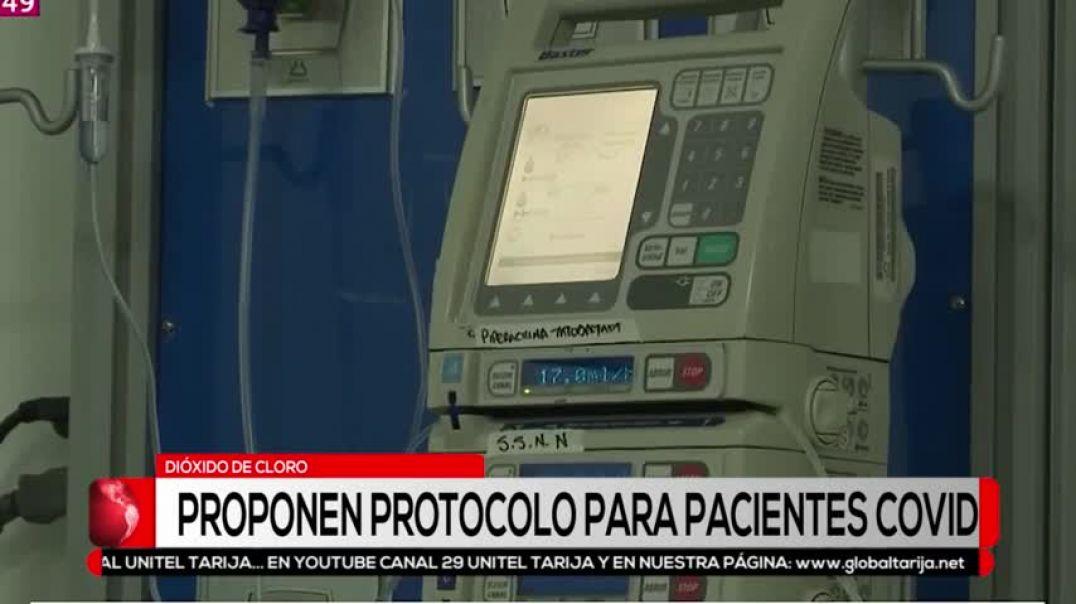 PROPONEN DIOXIDO DE CLORO PARA TRATAR COVID 19 BOLIVIA