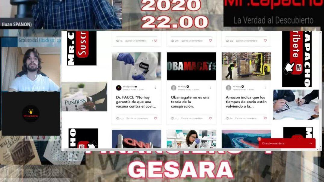 PROGRAMA DE ESTADO PROFUNDO Y REINICIO FINANCIERO Y GESARA CON MR CAPACHO
