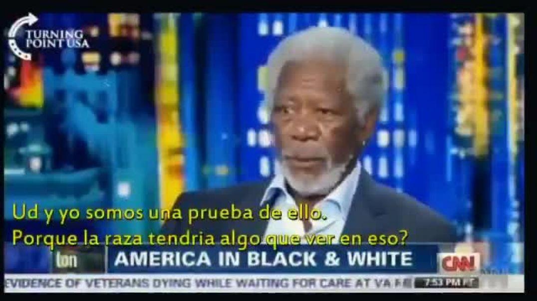 Morgan Freeman en CNN