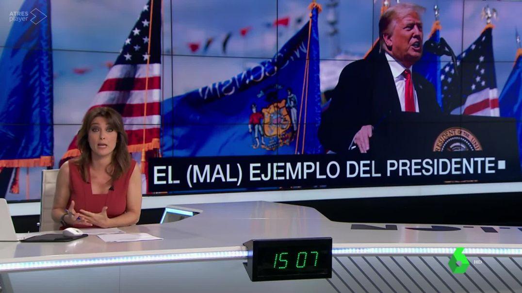 ¿El (mal) ejemplo del Presidente Trump o de los medios oficiales?