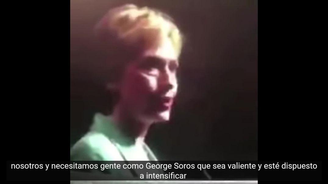 Hillary agradece y bendice la ayuda de Soros en su campaña electoral