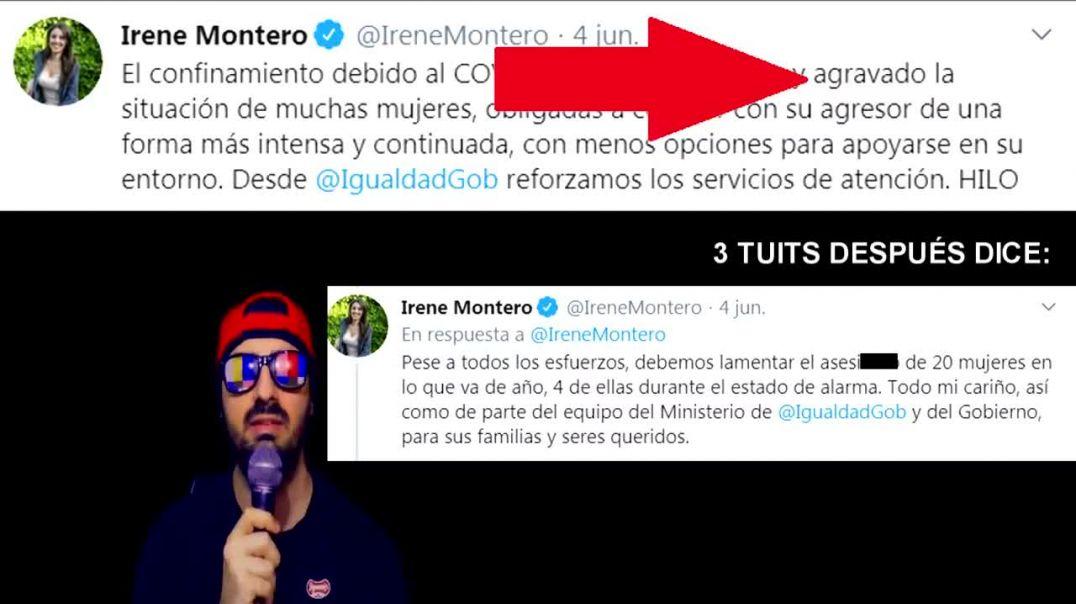 Irene Montero miente descaradamente