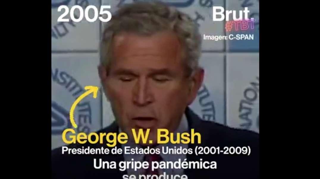 2005 - Ex-Presidente George W.Bush (2001-2009).