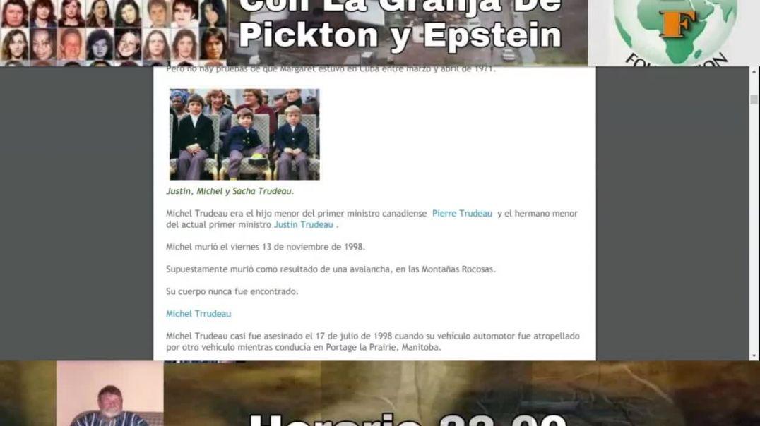 Conexion Trudeau Con La Granja De Pickton y Epstein EQUIPO #SPANON #QANON