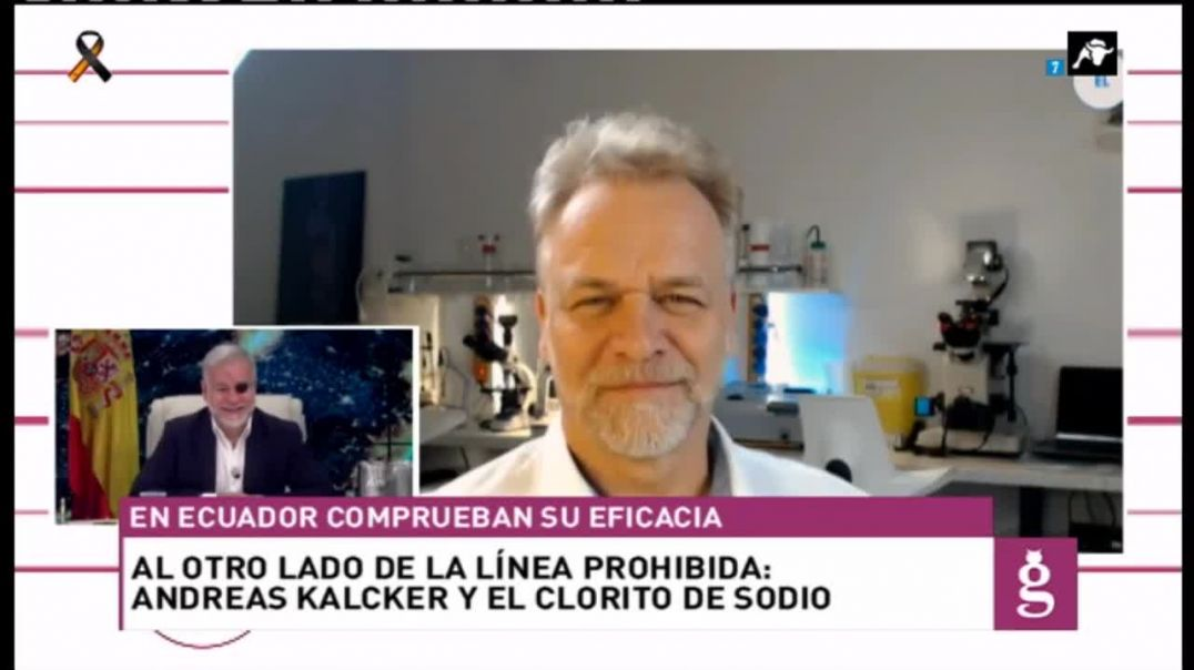 Andreas Kalcker y el -dióxido de cloro- en ElToroTV (TV Española) - Censurado por YouTube