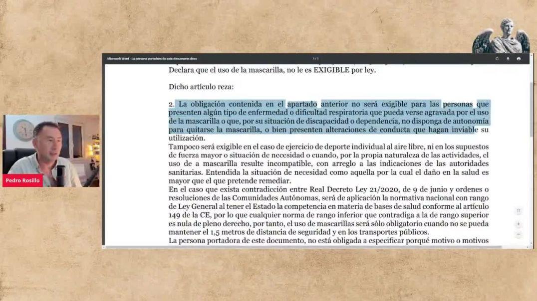 Empieza a Surtir Efecto el Documento Contra el Uso de la Mascarilla Testimonio