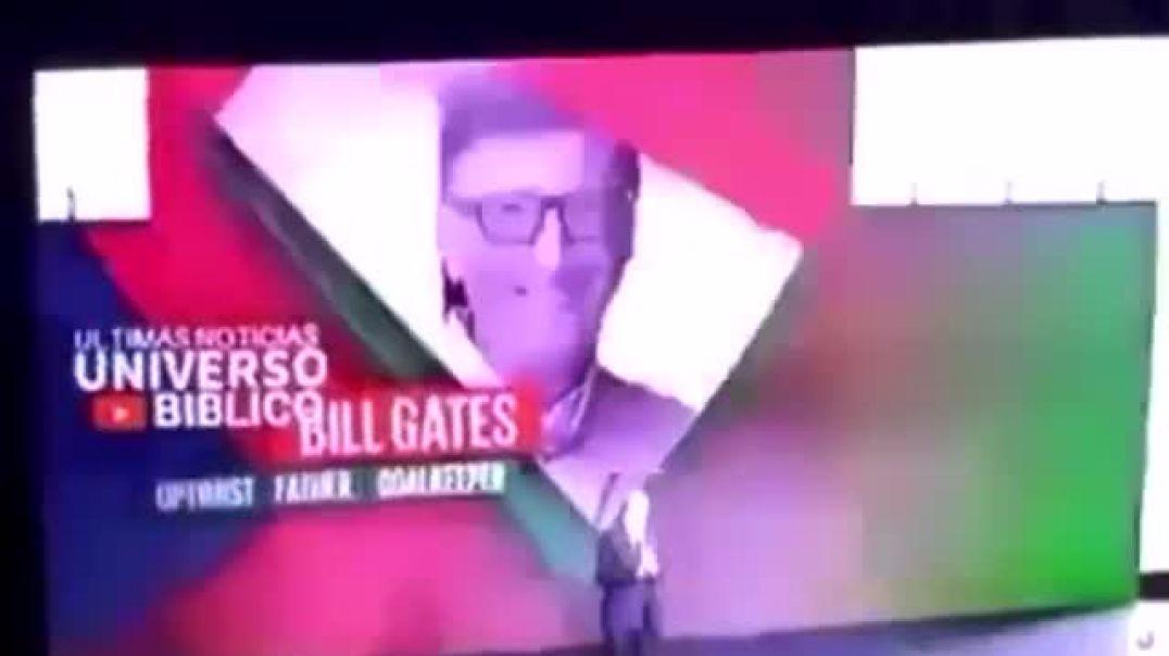 noticieros latinoamericános exponen el plan de Bill Gates