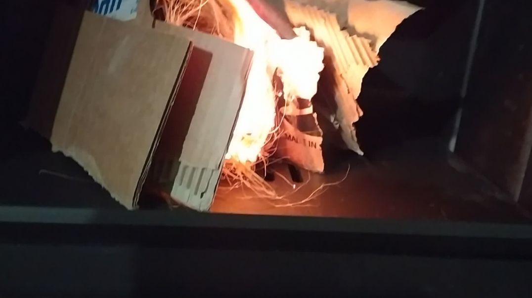 Primera prueba de fuego, antes de cerrar paredes.