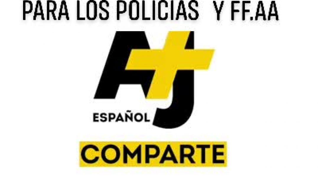 UN PEQUEÑO MENSAJE PARA LOS POLICIAS Y FF.AA