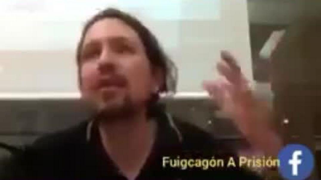 Grabaron a Pablo Iglesias sin que se diera cuenta