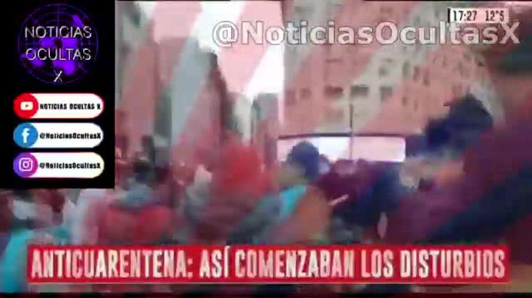 ARGENTINA CONTRA LA DICTADURA SATANICA EN PLAZA DE MAYO