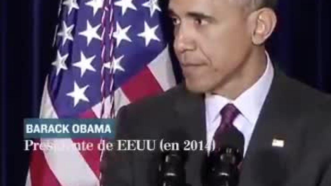 Obama anuncia la pandemia. 2014