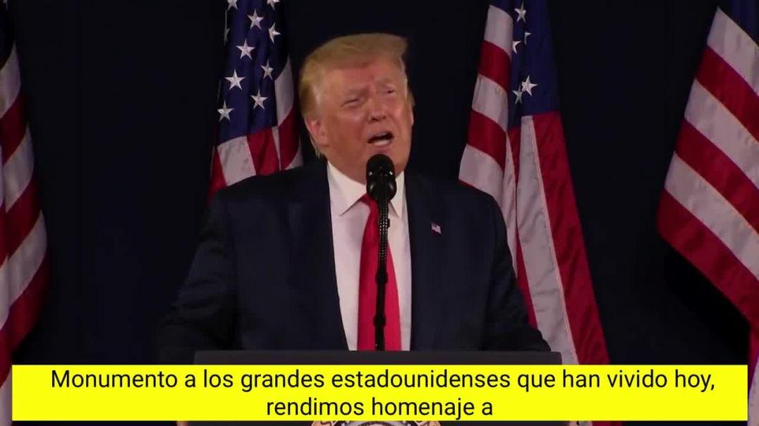 El discurso de Donald Trump que pasará a la historia como el mejor discurso de un Presidente.
