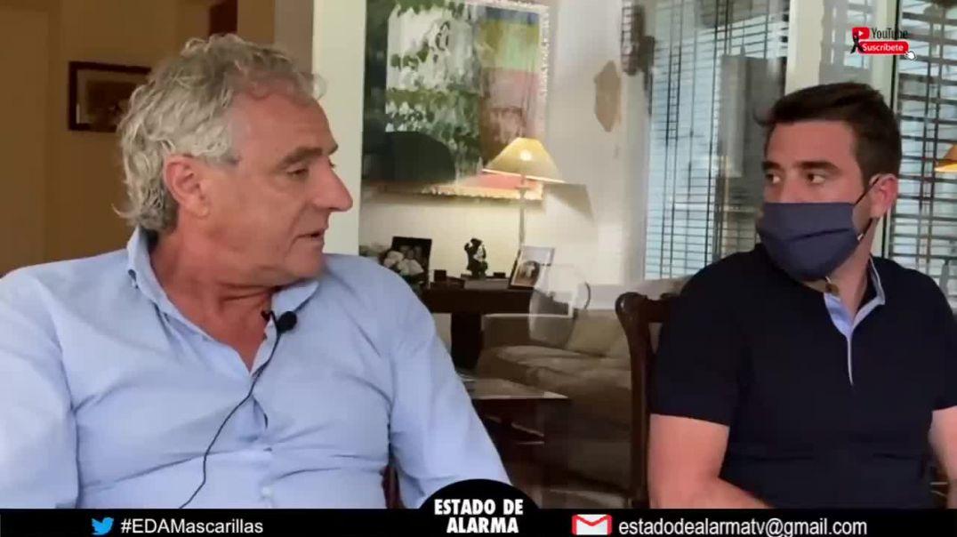 Doctor cuenta su experiencia con el Dioxido de Cloro en el canal Estado de Alarma