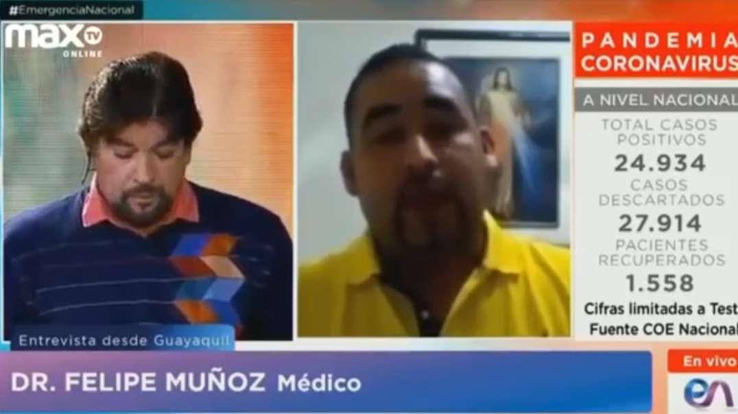 Medico Ecuatoriano - Usa Dioxido de Cloro CDS-MMS para curar a mas de 100 paciente con COVID 19