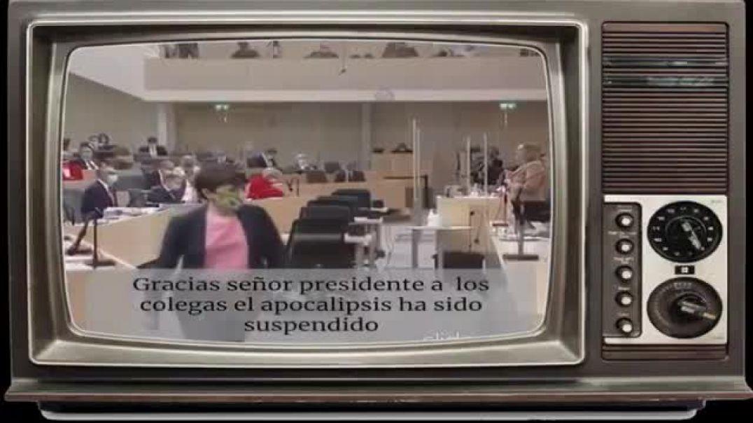 DIPUTADA AUSTRIACA CONTRA LA DICTADURA DIABOLICA