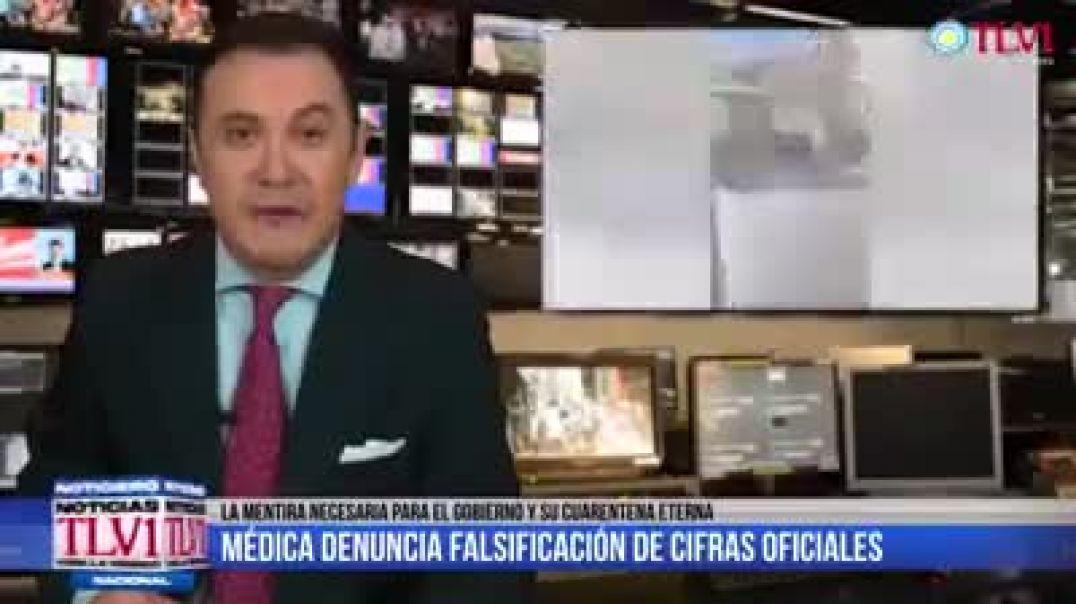 Doctora argentina denuncia que por órdenes superiores toda muerte se le debe atribuir al covid