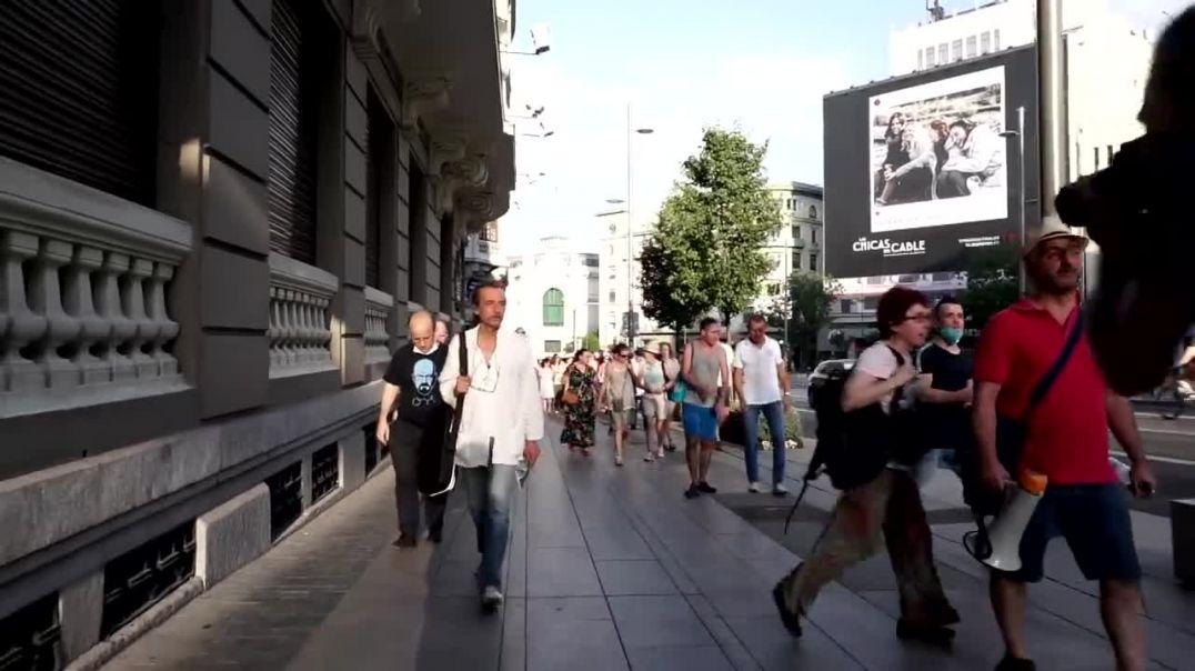 MADRID creando masa CRÍTICA contra el NOM. PARTE 2 CIBELES