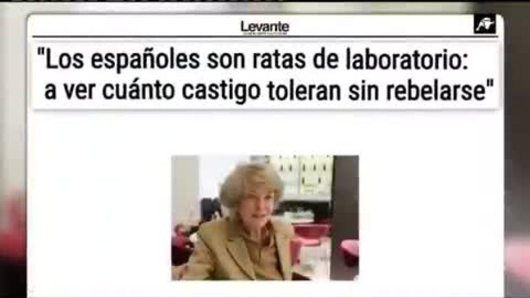 """DIFUNDE, COMPARTE, SI CALLAS ERES CÓMPLICE  """"Los españoles son ratas de laboratorio, a ver cuán"""