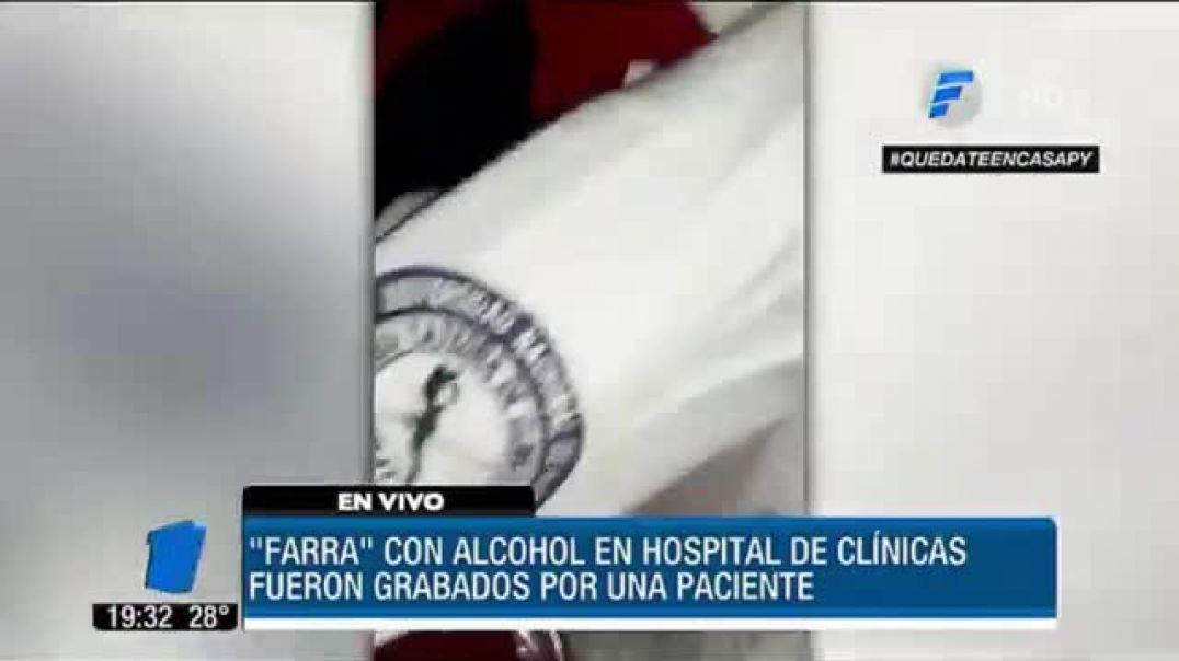 MEDICOS Y ENFERMEROS DE BORRACHERA EN PLENA GUARDIA Y PLANDEMIA
