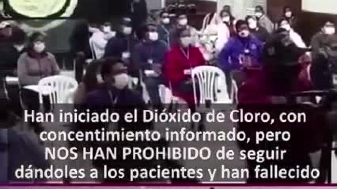 Valiente Dtra. Callispieris: No fallecen por el Dioxido de Cloro, fallecen por IGNORANCIA