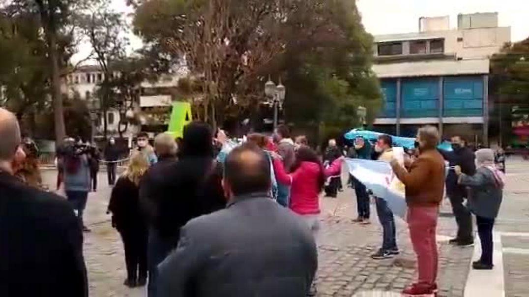 CORDOBA ARGENTINA  ROMPE LA CUARENTENA