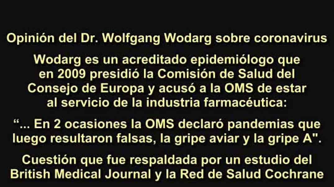Ex Presidente del Consejo de Salud de Europa denuncia esta falsa pandemia del coronavirus