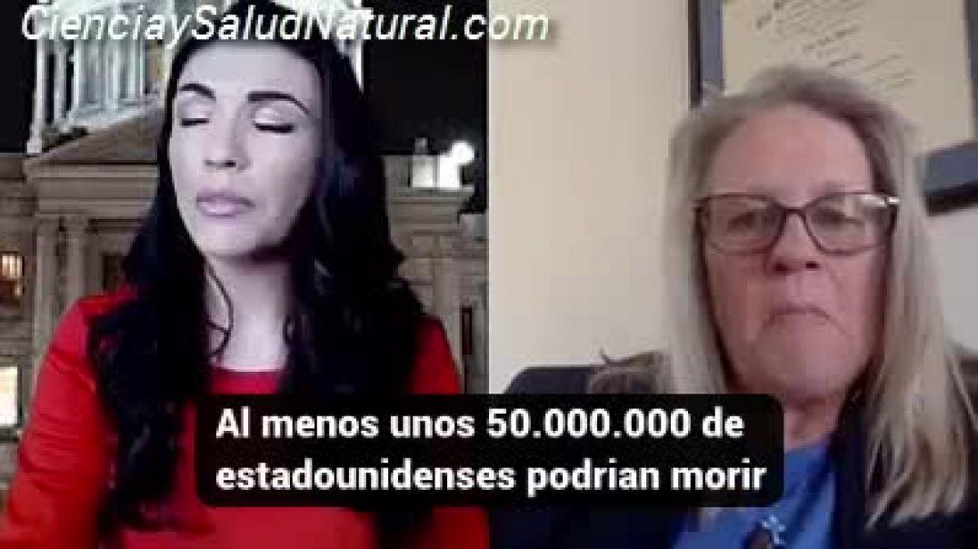 La Dra Judy Mikovits denuncia el peligro de la Vacuna contra el ControlaVirus!! GENOCIDIO.
