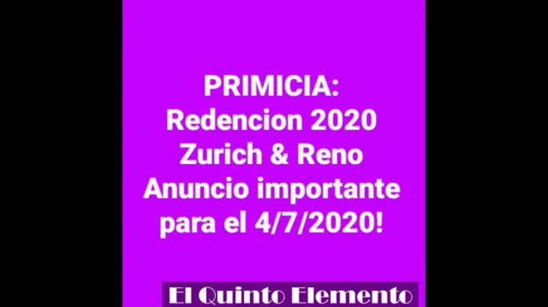 PRIMICIA sobre los Centros de Redencion 2020 y Anu(360P)