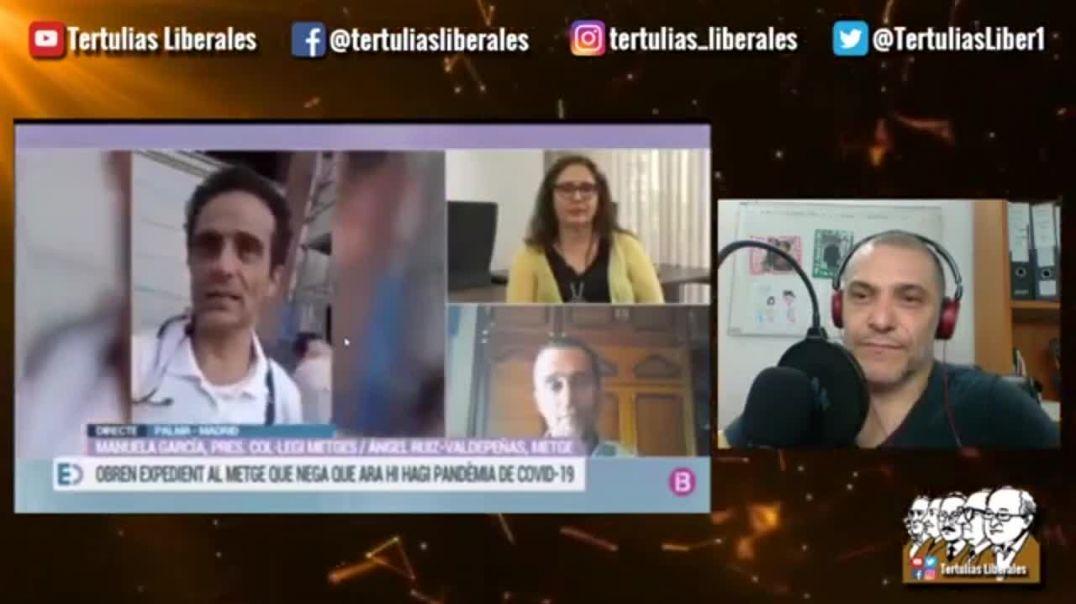 """Médico Angel Ruiz da su opinión en tv española. """"Los de la OMS son unos criminales"""""""