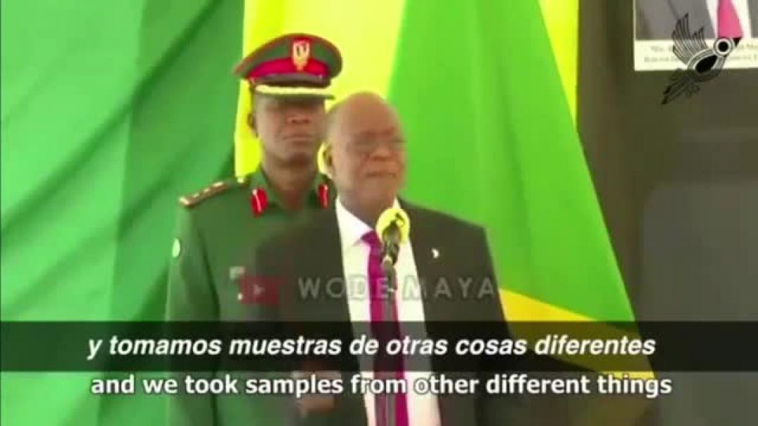 LOS TEST Y EL CIRCOVID SON UN FRAUDE.HABLA DE MEDICO Y PRESIDENTE DE TANZANIA
