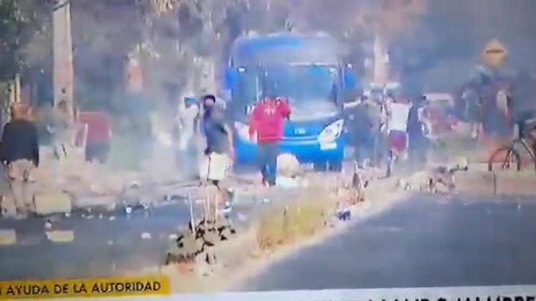 CHILE ESTA LUCHANDO CADA DIA CONTRA LA TIRANIA LUCIFERINA