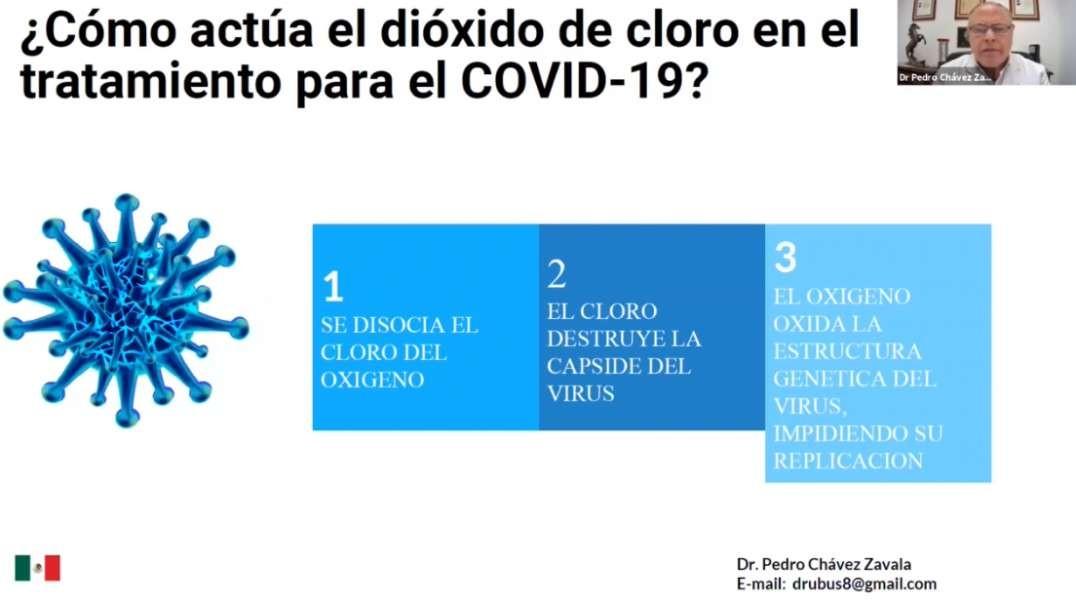 COMUSAV - Dioxido de Cloro - Es el Antidoto para el COVID19 - Dr Pedro Chavez