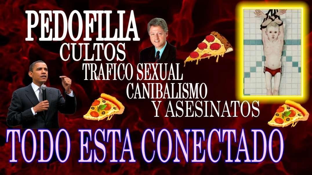 Pedofilia y canibalismo.