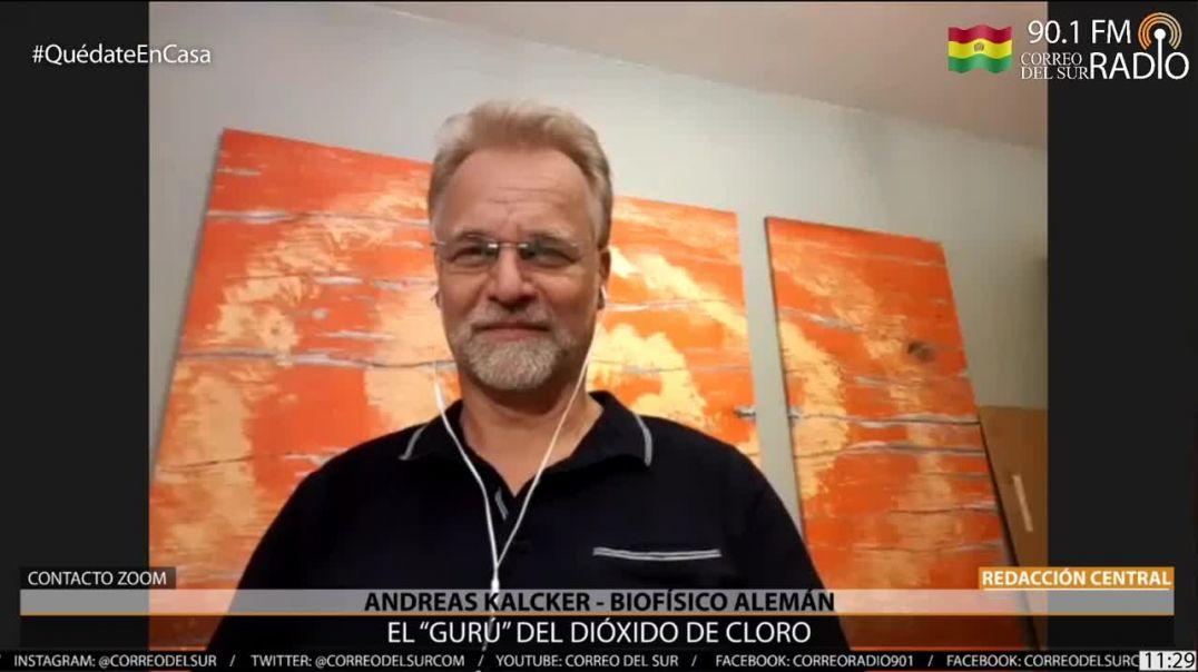 Habla Andreas Kalcker, gurú del dióxido de cloro. 10.000 casos recuperados.