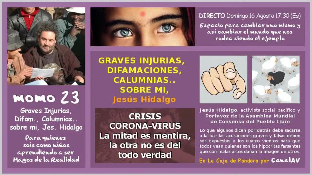 momo 23 - GRAVES INJURIAS, DIFAMACIONES, CALUMNIAS
