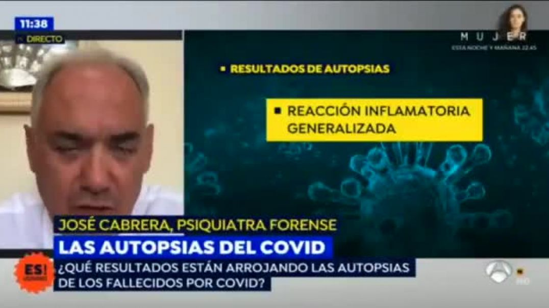 ¿Por qué no han hecho autopsias en España?. Directo en Antena3
