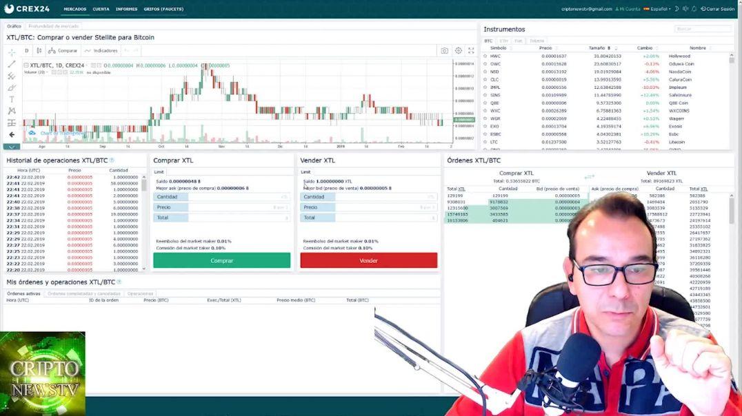 ¿Qué es un exchange? hoy vamos a ganar un poco de bitcoin gratis. CriptoNewsTv