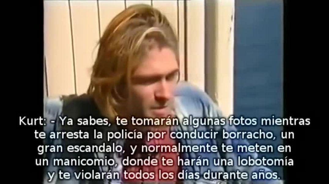 Kurt Cobain hablando de los illuminati