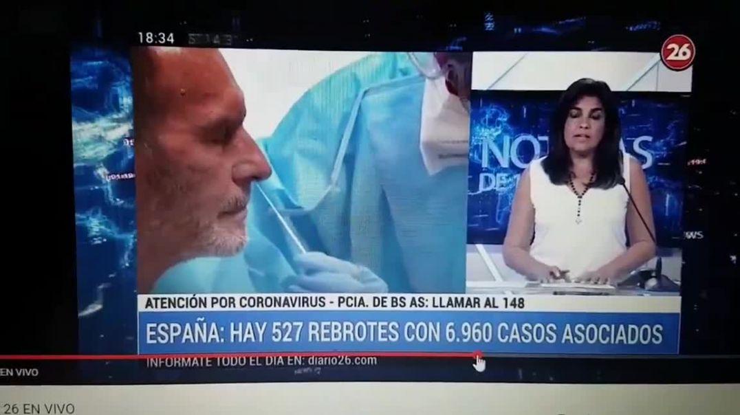 Los rebrotes en España, PCR falsos positivo, Medidas extremas