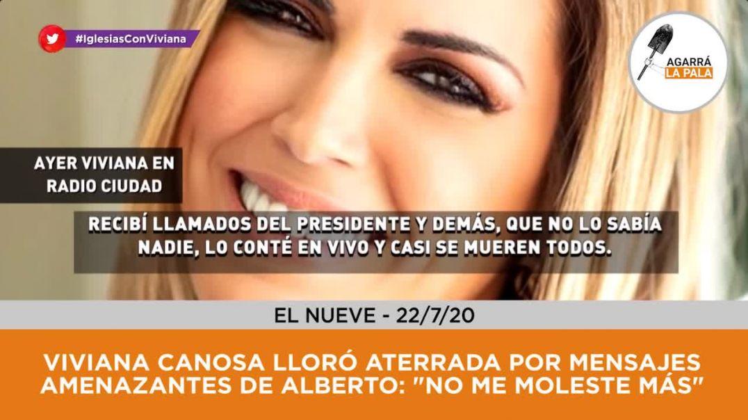 Viviana Canosa Periodista Argentina Recibi Amenazas del Presidente de la Nacion