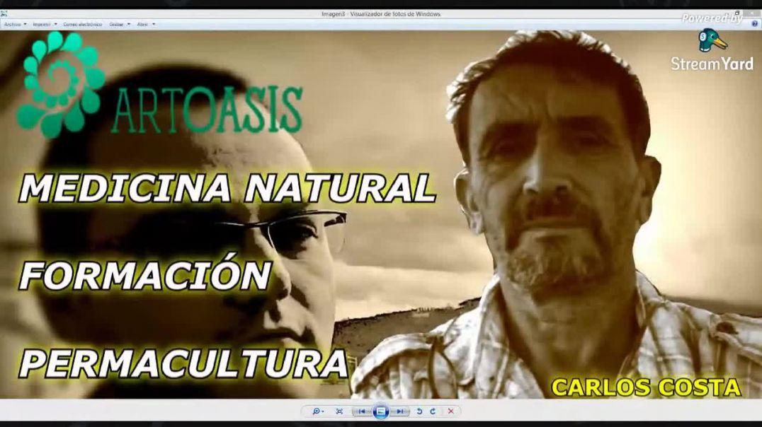 ART OASIS  Medicina Natural Formación y Permacultura con Carlos Costa