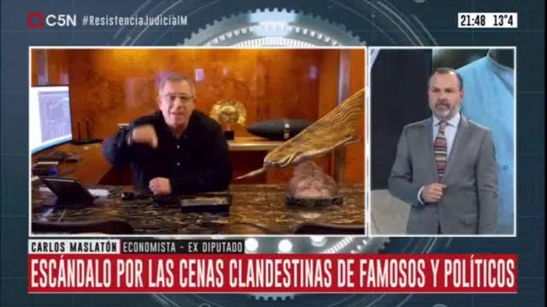 Carlos Maslaton La Cuarentena es Un Invento para Dominar a la Población No hay que cumplir