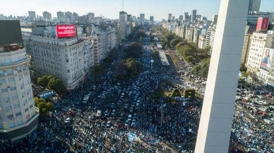 EN VIVO #17A Juntos Contra La Impunidad Marcha por la Libertad -ARGENTINA