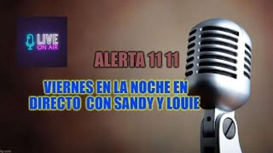 Conversando con Sandy viernes 24 de Julio 2020