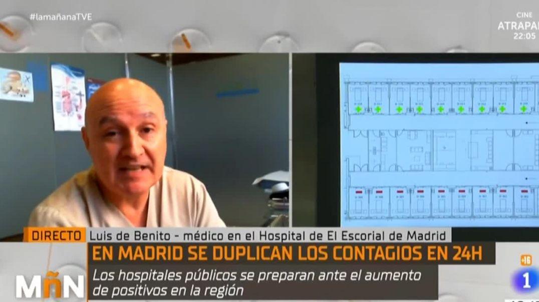 IMPRESIONANTE: Doctor español DESMONTA la versión oficial del covid-19 en DIRECTO