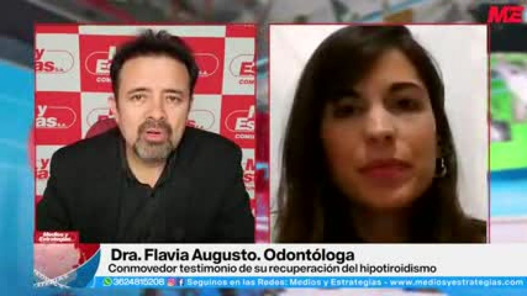 FLAVIA AUGUSTO - Conmovedor testimonio de su recuperación del hipotiroidismo usando CDS