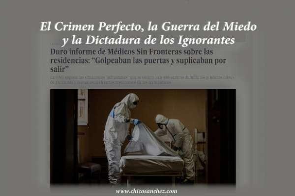 """Compartiendo con vosotros un nuevo video ( https://loveotv.com/watch/el-crimen-perfecto-la-guerra-del-miedo-y-la-dictadura-de-los-ignorantes_o8s6wCyC6LCCLEm.html ) . """"El crimen perfecto.."""
