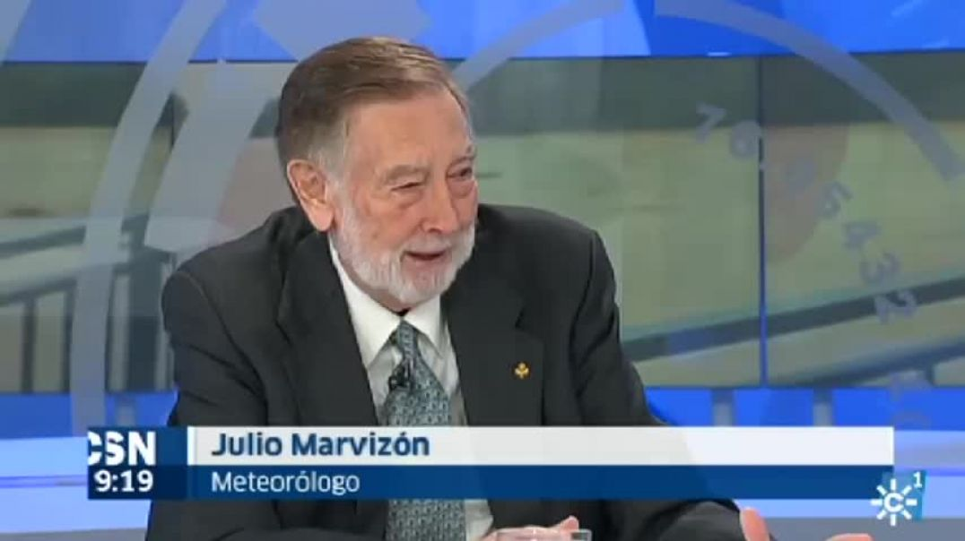 Julio Marvizón, meteorólogo Cambio Climático